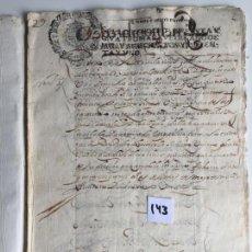 Documentos antiguos: TESTAMENTO EN ANTEQUERA , MÁLAGA , 1681. Lote 144101302