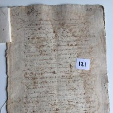 Documentos antiguos: TESTAMENTO EN ANTEQUERA , MÁLAGA , S. XVIII. Lote 144122642