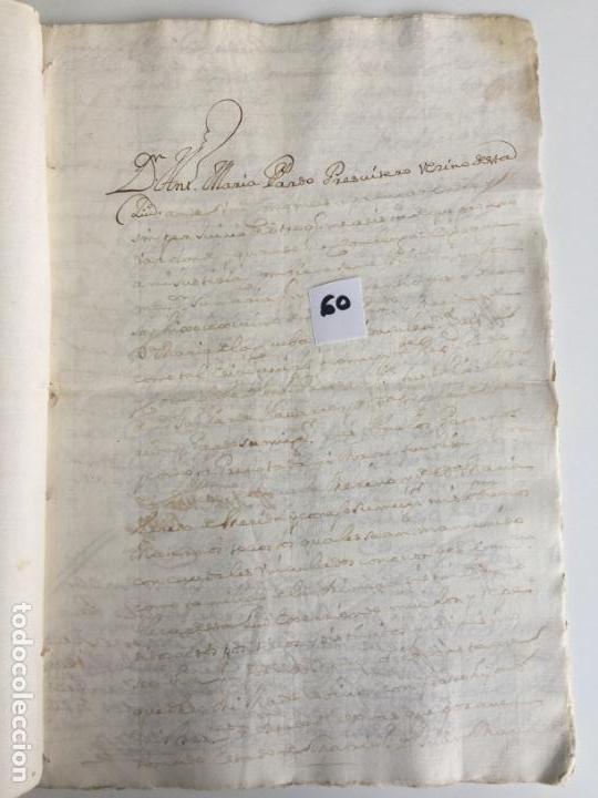Documentos antiguos: CERTIFICADO EN ANTEQUERA , MÁLAGA , 1771 - Foto 2 - 144225514