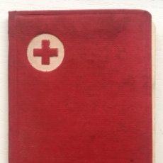 Documentos antiguos: CARTILLA CARNET CRUZ ROJA ESPAÑOLA - ASOCIADO DE NUMERO - MADRID AÑO 1968. Lote 144617937