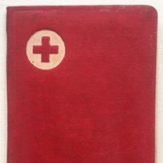 Documentos antiguos: CARTILLA CARNET CRUZ ROJA ESPAÑOLA - ASOCIADO DE NUMERO - MADRID AÑO 1968. Lote 144618284