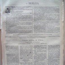 Documentos antiguos: HUELVA.-ANUARIO DEL COMERCIO.-INDUSTRIA.-COMERCIO.-TIENDAS.-MADRID.-BAILLY-BAILLIERE.-AÑO 1905.. Lote 144766158