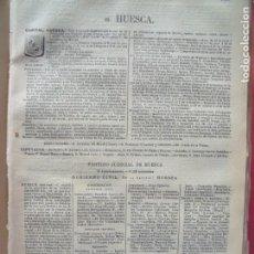 Documentos antiguos: HUESCA.-ANUARIO DEL COMERCIO.-INDUSTRIA.-COMERCIO.-TIENDAS.-MADRID.-BAILLY-BAILLIERE.-AÑO 1905.. Lote 144766226