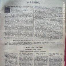 Documentos antiguos: LERIDA.-ANUARIO DEL COMERCIO.-INDUSTRIA.-COMERCIO.-TIENDAS.-MADRID.-BAILLY-BAILLIERE.-AÑO 1905.. Lote 144766386