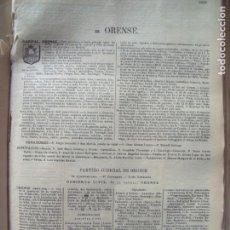 Documentos antiguos: ORENSE.-ANUARIO DEL COMERCIO.-INDUSTRIA.-COMERCIO.-TIENDAS.-MADRID.-BAILLY-BAILLIERE.-AÑO 1905.. Lote 144766862