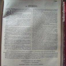 Documentos antiguos: OVIEDO.-ANUARIO DEL COMERCIO.-INDUSTRIA.-COMERCIO.-TIENDAS.-MADRID.-BAILLY-BAILLIERE.-AÑO 1905.. Lote 144766922