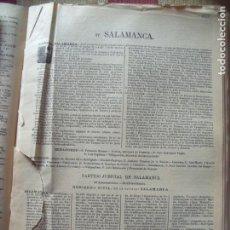 Documentos antiguos: SALAMANCA.-ANUARIO DEL COMERCIO.-INDUSTRIA.-COMERCIO.-TIENDAS.-MADRID.-BAILLY-BAILLIERE.-AÑO 1905.. Lote 149384553