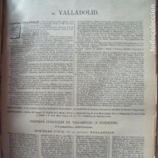 Documentos antiguos: VALLADOLID.-ANUARIO DEL COMERCIO.-INDUSTRIA.-COMERCIO.-TIENDAS.-MADRID.-BAILLY-BAILLIERE.-AÑO 1905.. Lote 191772692