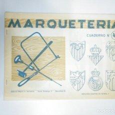 Documenti antichi: CUADERNO DE MARQUETERIA Nº 48. EDITORIAL MIGUEL A. SALVATELLA. TDKR33. Lote 145044934