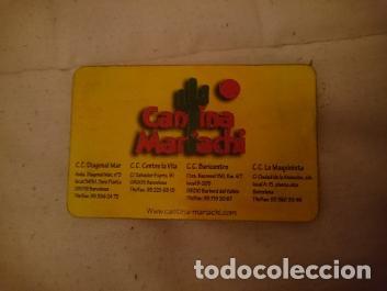 TARJETA RESTAURANTE MEXICANO BCN (Coleccionismo - Documentos - Otros documentos)