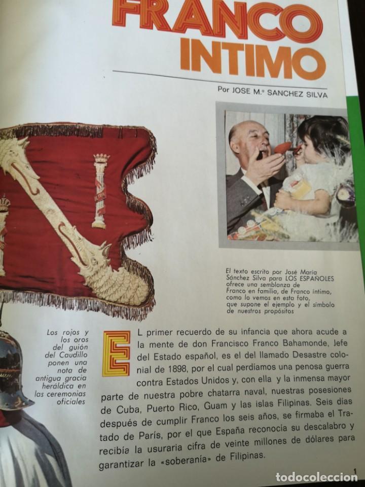 Documentos antiguos: Los españoles publicaciones controladas - Foto 2 - 145327618