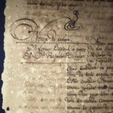 Documentos antiguos: VENTA DE ESCLAVA 1832 Y 33. SELLO 3º. FIRMAS. Lote 145639022