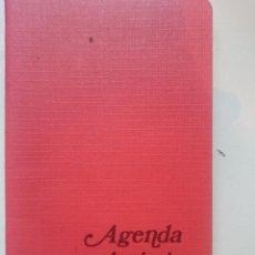 Documentos antiguos: AGENDA ARTISTICA 1986 - TAMAÑO BOLSILLO -VER FOTOS. Lote 146454446