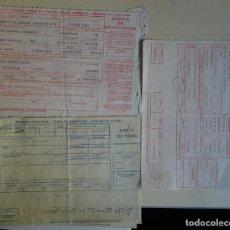 Documentos antiguos: LOTE DE 3 DOCUMENTOS DE IMPUESTOS INDUSTRIALES, VER FOTOS. Lote 146502658