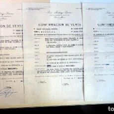 Documentos antiguos: ANTIGUO DOCUMENTO DE COMPRA-VENTA AGRÍCOLA , PEDRO MUÑOZ, VER FOTOS. Lote 146554518