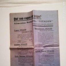 Documentos antiguos: REVISTA NATURISTA PENTALFA FEBRERO DE 1934. Lote 146620530