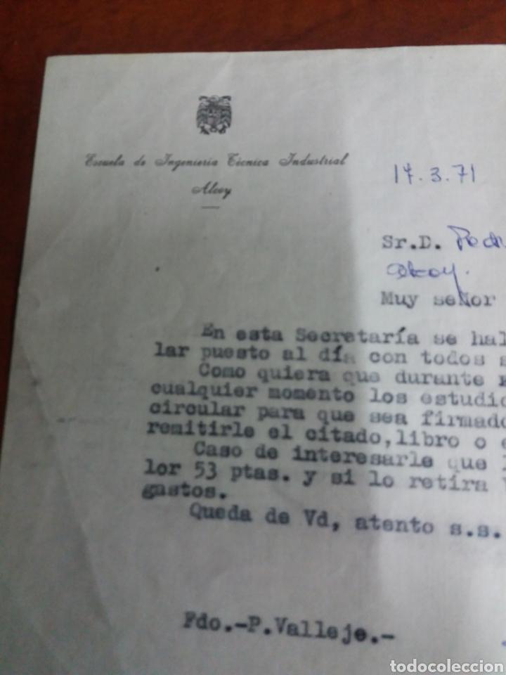 Documentos antiguos: Alcoy ,documentos. - Foto 5 - 146623025