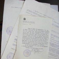 Documentos antiguos: REPUBLICA - ASOCIACION DE FUNCIONARIOS PROVINCIALES: LOTE DOCUMENTOS DE MEDICO. SEVILLA, 1933. Lote 146711382