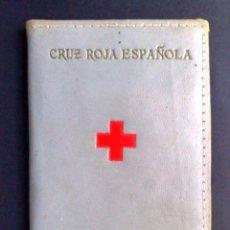 Documentos antiguos: CARNET DE IDENTIDAD DE LA CRUZ ROJA ESPAÑOLA,DAMA AUXILIAR, (COMPL.10 PAG.) EXPEDIDO 1957 DESCRIPCIÓ. Lote 146719658