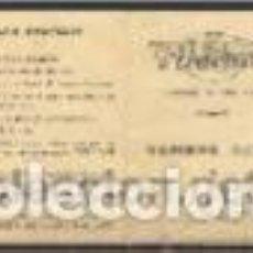 Documentos antiguos: CARNET DE TURISMO/TRABAJO. FRANCIA. AÑOS 1949/50. Lote 147089410