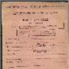 Documentos antiguos: CARTILLA SANITARIA. FRANCIA . AÑOS 1912/13. Lote 147557598