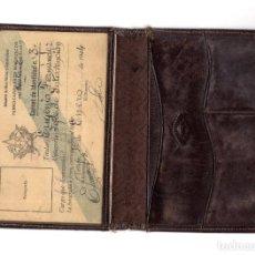 Documentos antiguos: CARNET. FERROCARRILES DE MARRUECOS 1944. LINEA LARACHE-ALCAZARQUIVIR. Lote 147591522
