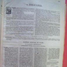 Documentos antiguos: BALEARES.-ANUARIO DEL COMERCIO.-INDUSTRIA.-TIENDAS.-COMERCIOS.-ESTABLECIMIENTOS.-AÑO 1905.. Lote 147898566
