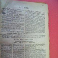 Documentos antiguos: CORUÑA.-ANUARIO DEL COMERCIO.-INDUSTRIA.-TIENDAS.-COMERCIOS.-ESTABLECIMIENTOS.-AÑO 1905. Lote 147901066