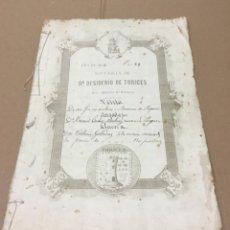 Documentos antiguos: ANTIGUAS ESCRITURAS. Lote 148205122