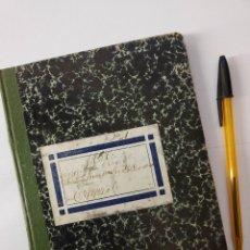 Documentos antiguos: ANOTACIONES DEL VINO VENDIDO DE LA FILIAL DE TRABAJADORES DE VALDEPEÑAS, 1937. GUERRA CIVIL.. Lote 148237422