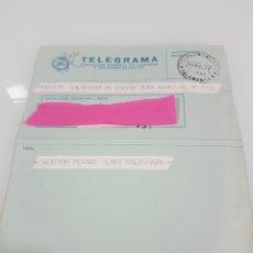 Documentos antiguos: TELEGRAMA PÉSAME 1974. Lote 148506010