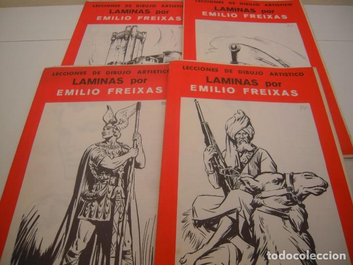 LOTE DE LAMIAS DE EMILIO FREIXAS (Coleccionismo - Documentos - Otros documentos)