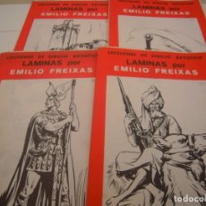 Documentos antiguos: LOTE DE LAMIAS DE EMILIO FREIXAS. Lote 148762494