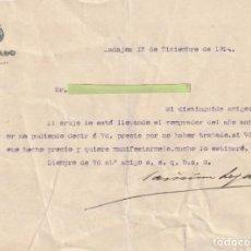 Documentos antiguos: CARTA DE UN SENADOR PARTICULAR BADAJOZ 1924 - -D-18. Lote 149957518
