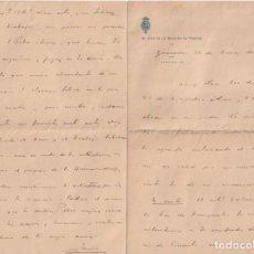 Documentos antiguos: JEFE DE LA SECCION DE POSITOS DE GRANADA (DEPOSITO DE CEREAL DE GRANO DE CARACTER MUNICIPAL1915 D-18. Lote 149973962