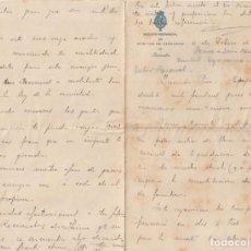 Documentos antiguos: SECCION PROVINCIAL DE POSITOS DE ZARAGOZA (DEPOSITO DE CEREAL DE CARACTER MUNICIPAL)1913 - -D-18. Lote 149975678