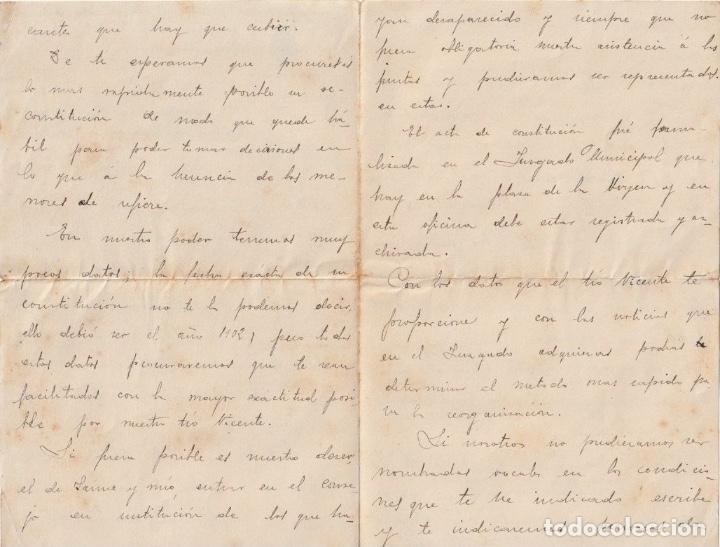 Documentos antiguos: SECCION PROVINCIAL DE POSITOS DE ZARAGOZA (DEPOSITO DE CEREAL DE CARACTER MUNICIPAL)1913 - -D-18 - Foto 2 - 149975678