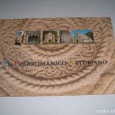 Documentos antiguos: CARPETA LAMINAS EL PREROMANICO ASTURIANO. Lote 150255682