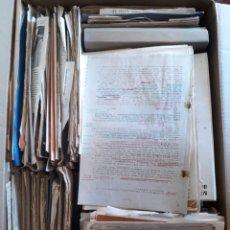 Documentos antiguos: INTERESANTE LOTE 30 KILOS DOCUMENTOS APUNTES MANUSCRITOS ETC. Lote 150949613