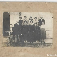 Documentos antigos: 430- EXTRAORDINARIA FOTOGRAFIA ANTIGUA- DE UNA FAMILIA - FOTO - - - - -. Lote 151151234