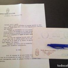 Documentos antiguos: TERTULIA FLAMENCA LA PLANA-VILLARREAL. Lote 151827954