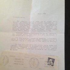 Documentos antiguos: TERTULIA FLAMENCA LA PLANA-VILLARREAL. Lote 151827998