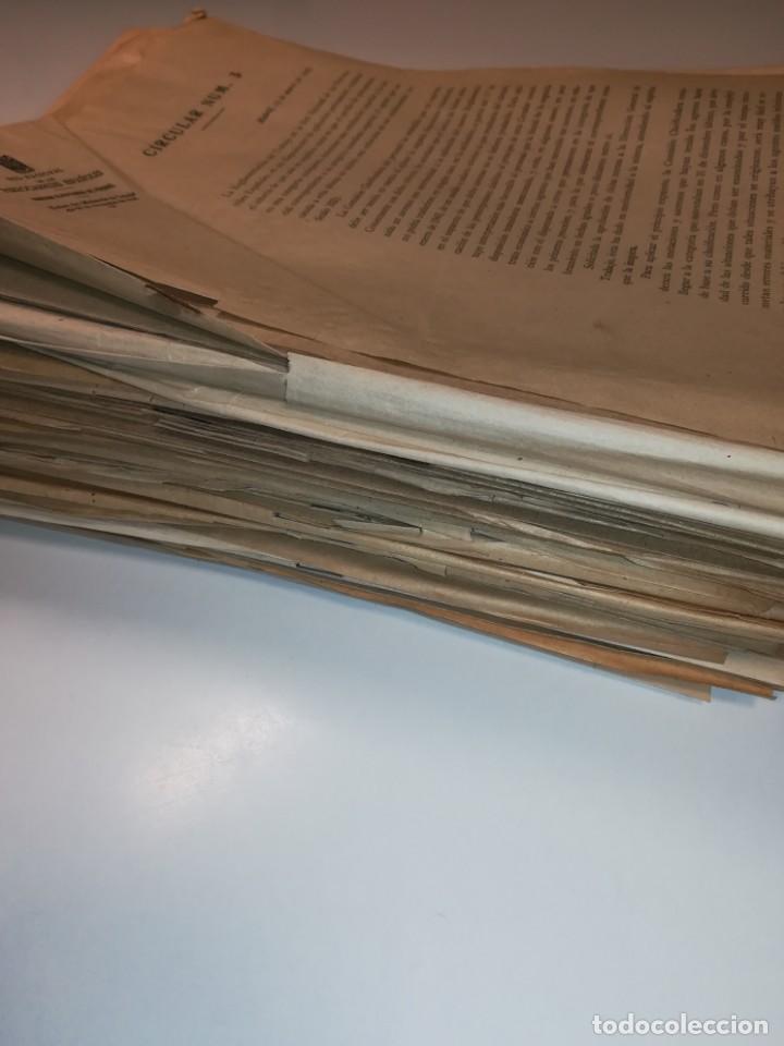 Documentos antiguos: Lote de circulares Renfe desde 1945 a 1974 - Foto 7 - 152062654