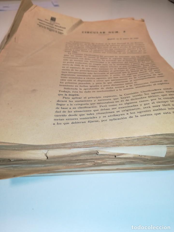 Documentos antiguos: Lote de circulares Renfe desde 1945 a 1974 - Foto 8 - 152062654