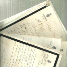 Documentos antiguos: 3893.- ANGLES-LA SELVA GIRONA- CARTAS DE SENADORES UNA CARRETERA A SANT HILARI SACALM. Lote 152184194