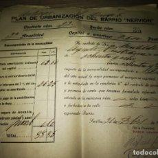 Documentos antiguos: DOCUMENTO COMERCIAL AÑO 1925. Lote 152226502
