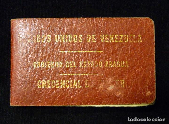 Documentos antiguos: PASAPORTE MATRIMONIO, EXPEDIDO EN SAN SEBASTIAN, 1950. CONSULADO CARACAS. TITULO CHOFER + PAPELES - Foto 12 - 152431038