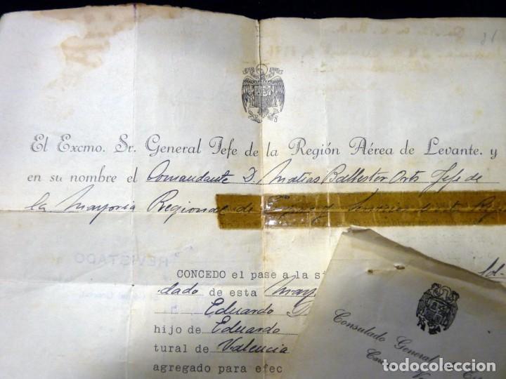 Documentos antiguos: PASAPORTE MATRIMONIO, EXPEDIDO EN SAN SEBASTIAN, 1950. CONSULADO CARACAS. TITULO CHOFER + PAPELES - Foto 19 - 152431038