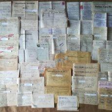 Documentos antiguos: FACTURAS Y RECIBOS AÑOS 1930 Y 1940 EMPRESAS DE VALENCIA. Lote 152487330