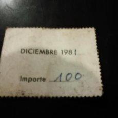 Documentos antiguos: VIEJO RECIBO MEDICO RAFAEL NOGUERA AZUARA ZARAGOZA. Lote 152490202